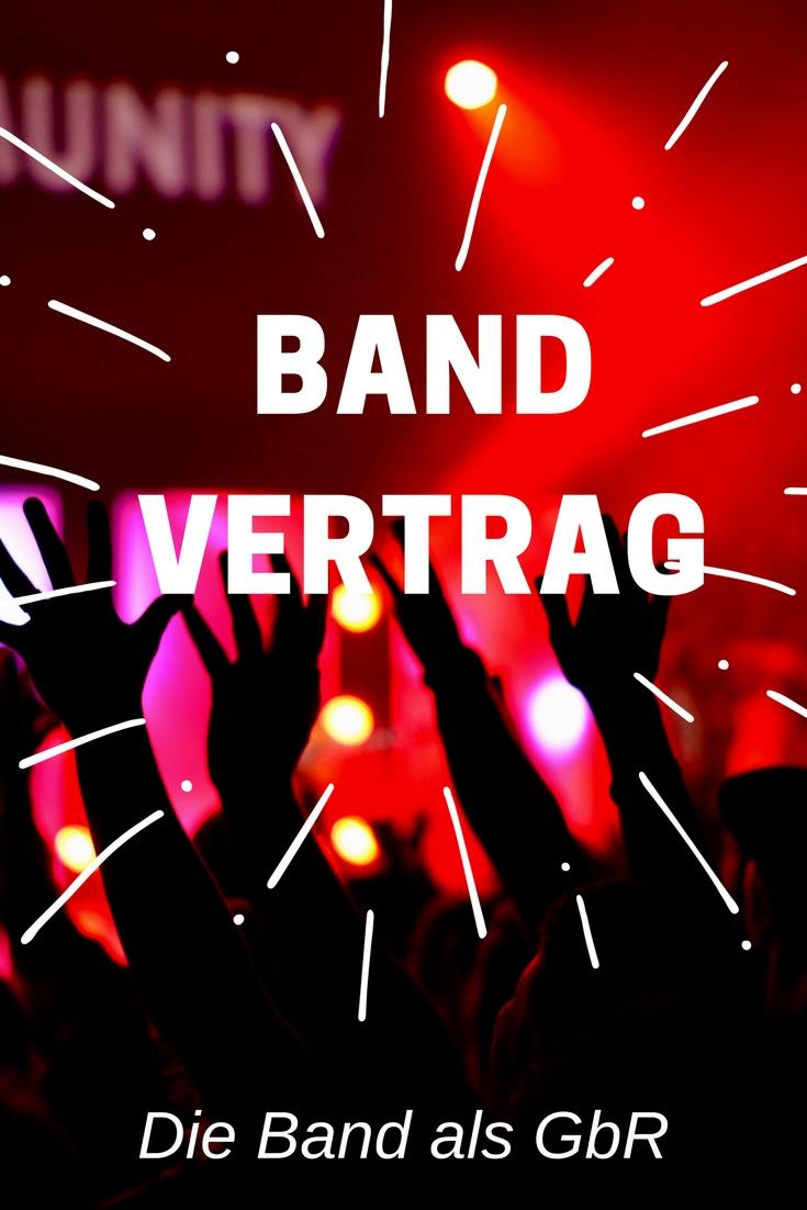Band Vertrag Die Band Als Gbr